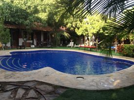 Hostel with pool in Colombia