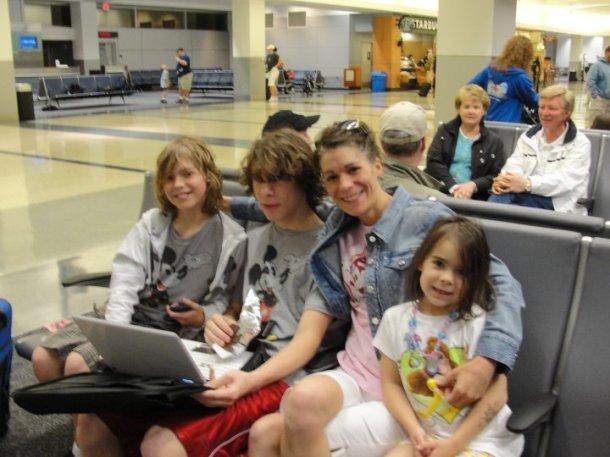 airport on way to disney world