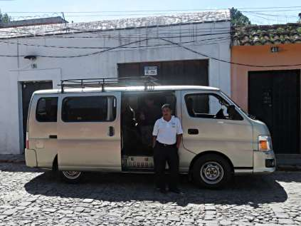 Guatemala City airport shuttle