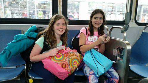 Metro bus ride Miami