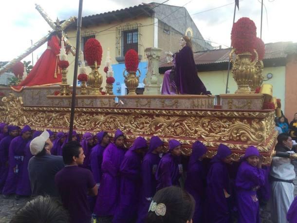 Parade antigua