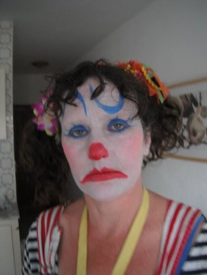 Susy the clown face